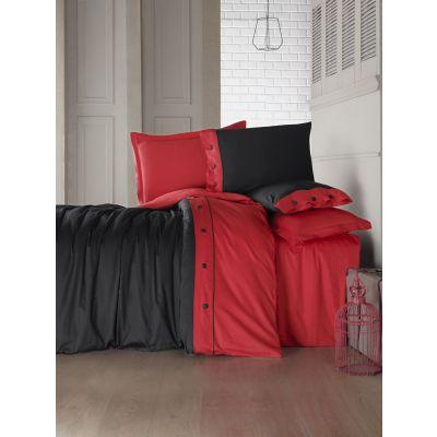 Спален комплект COTTON BOX - Фешън сатен червен