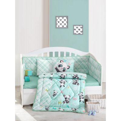 Бебешки спален комплект с олекотена завивка - Панда