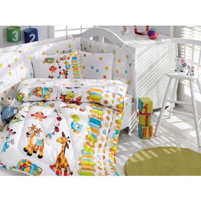 Бебешки спален комплект с олекотена завивка - Оун Бахчеси