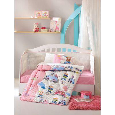 Бебешки спален комплект с олекотена завивка - Севимли Сеяхат