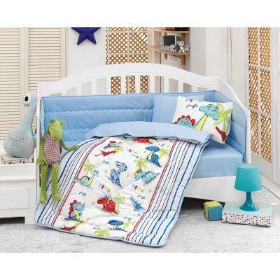 Бебешки спален комплект с олекотена завивка - Дино