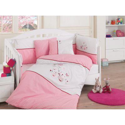 Бебешки спален комплект с олекотена завивка - Лукс Броуд Мами