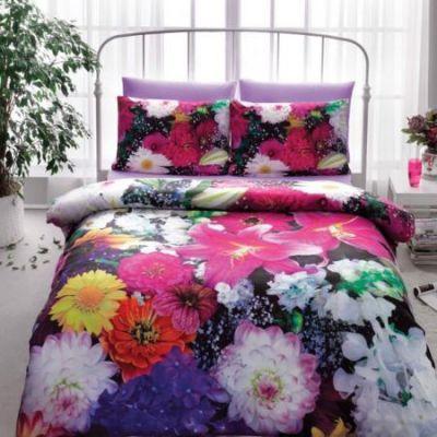Спално бельо, Flowers