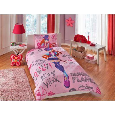Детски спален комплект TAC - Уинкс холидей Блум