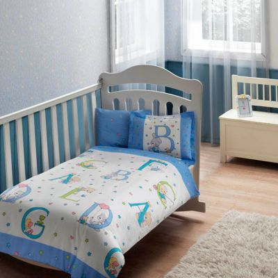 Бебешки спален комплект TAC - Суит Енималс