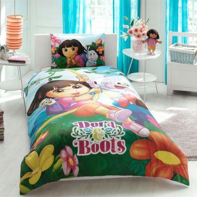 Детски спален комплект TAC - Дора и ботушите