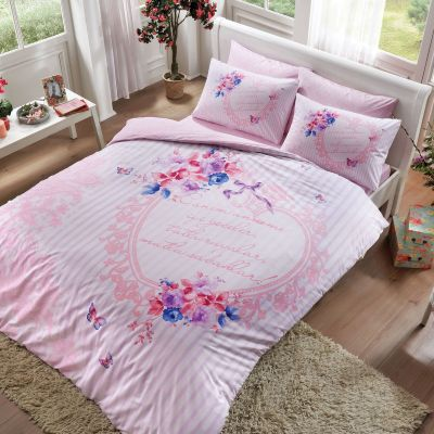 Спален комплект TAC - Каним Анем розов