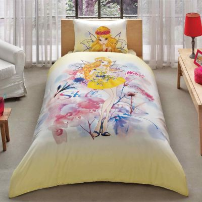 Детски спален комплект TAC - Уинкс Стела акварел