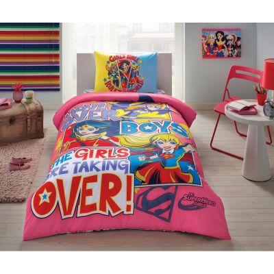 Детски спален комплект TAC - Супер Хироу Гърлс