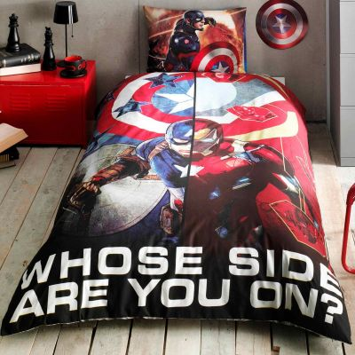 Детски спален комплект TAC - Капитан Америка