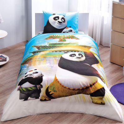Детски спален комплект TAC - Кунг Фу Панда