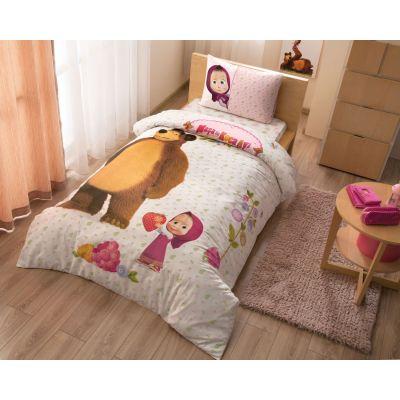 Детски спален комплект TAC - Маша и мечока