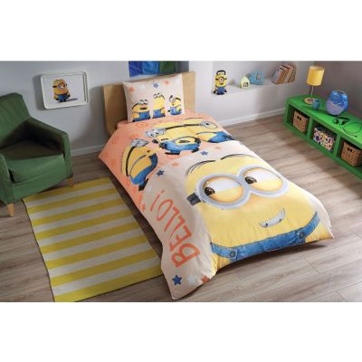 Детски спален комплект TAC - Миньонс Белос