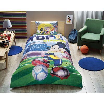 Детски спален комплект TAC - Дисни Мики Гол