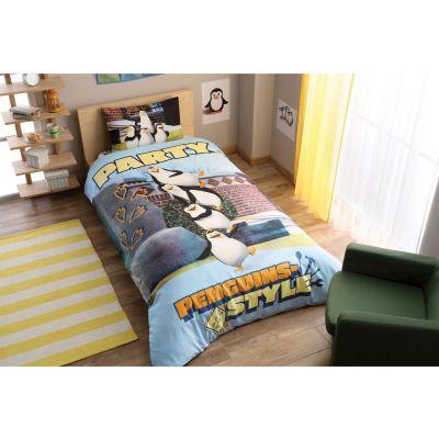 Детски спален комплект TAC - Пингуинс Парти