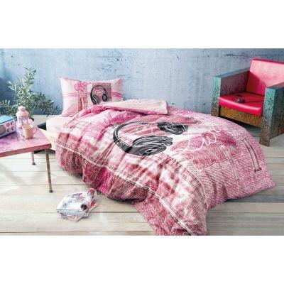 Спален комплект TAC - Лисън розов