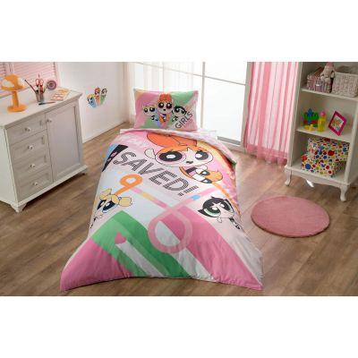 Детски спален комплект TAC - Пауър Пуф Гърлс