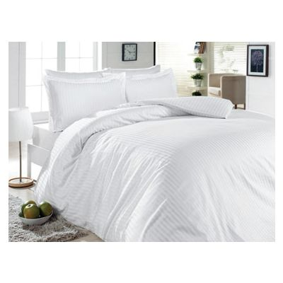 Спално бельо Lines White