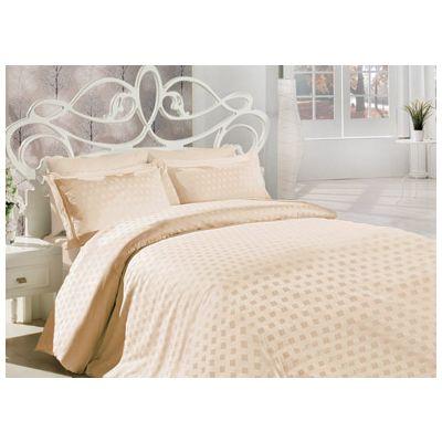 Спално бельо Square Ecru
