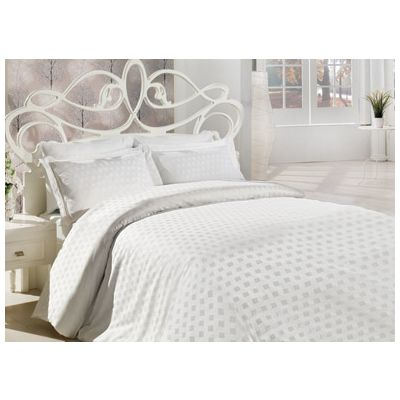 Спално бельо Square White