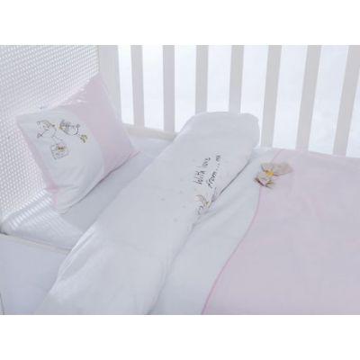 Бебешки спален комплект,Pink bird