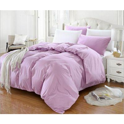 Спален комплект - Светлолилаво/бяло