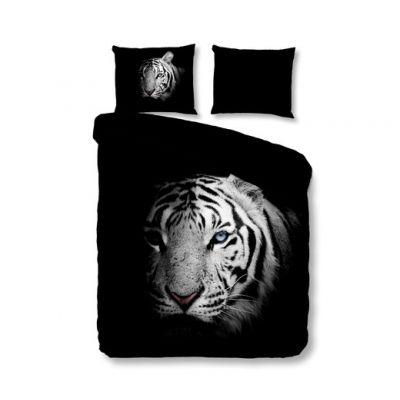 """Спално бельо """"Тигър"""" черно"""