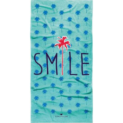 Плажна кърпа Tom Tailor Smile Turquoise