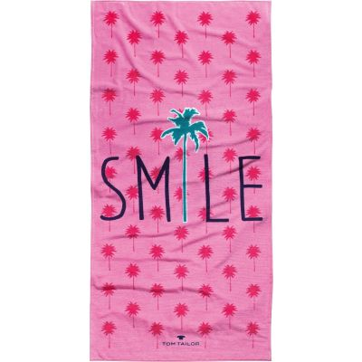 Плажна кърпа Tom Tailor Smile Pink
