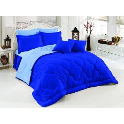 Двулицево шалте RAKLA - Синьо