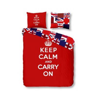 """Спално бельо """"UK"""" червен"""