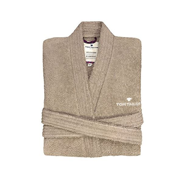 Хавлиен халат Tom Tailor - Кимоно пясък