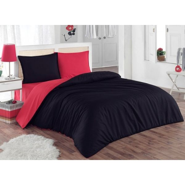 Спален комплект - Червено/черно