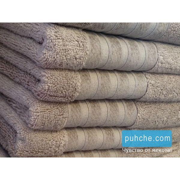 Бамбукови хавлиени кърпи Mystery, капучино
