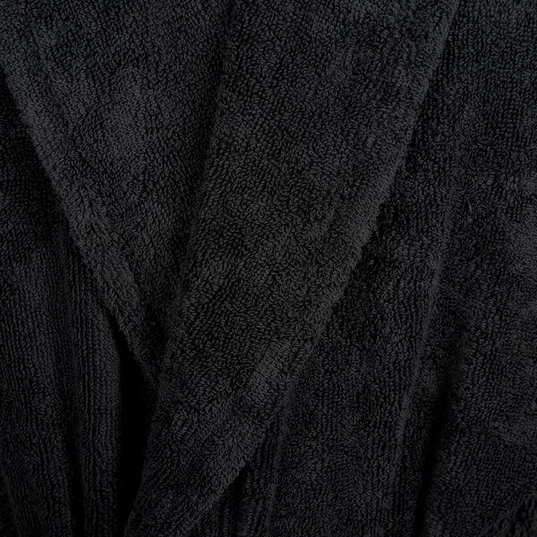 Хавлиен халат Roberto Cavalli - Ново злато - черно