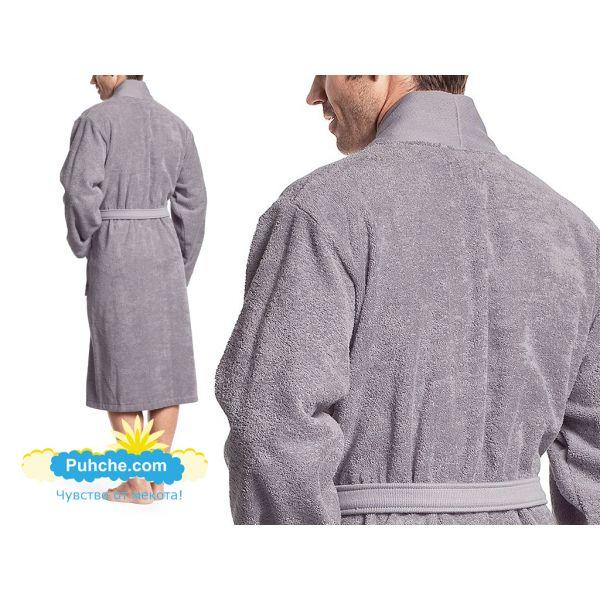 хавлиен халат BOSS кимоно графит