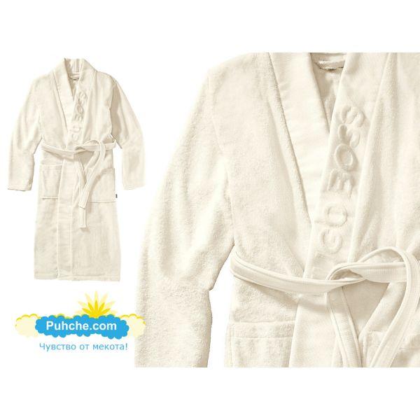 хавлиен халат BOSS кимоно ивори
