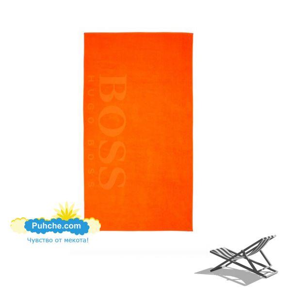 Плажна кърпа BOSS - Orange