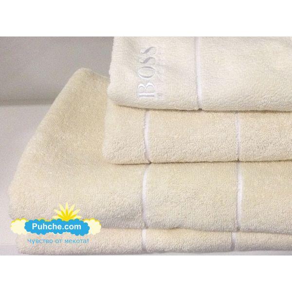 Хавлиени кърпи Попи Крем
