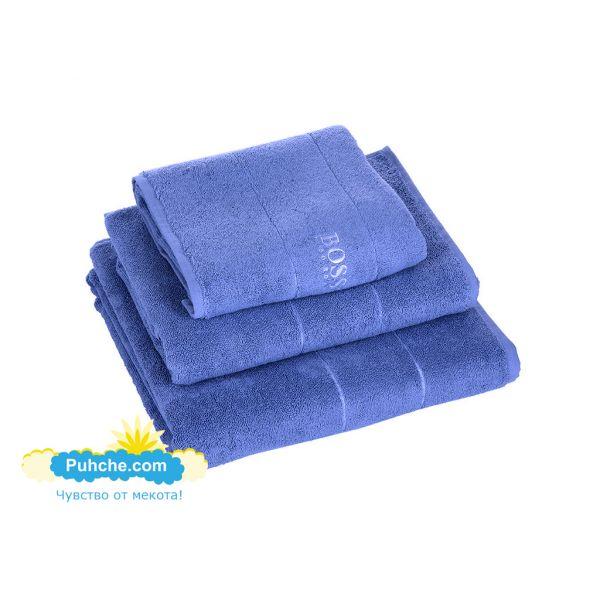 Хавлиени кърпи Попи сини