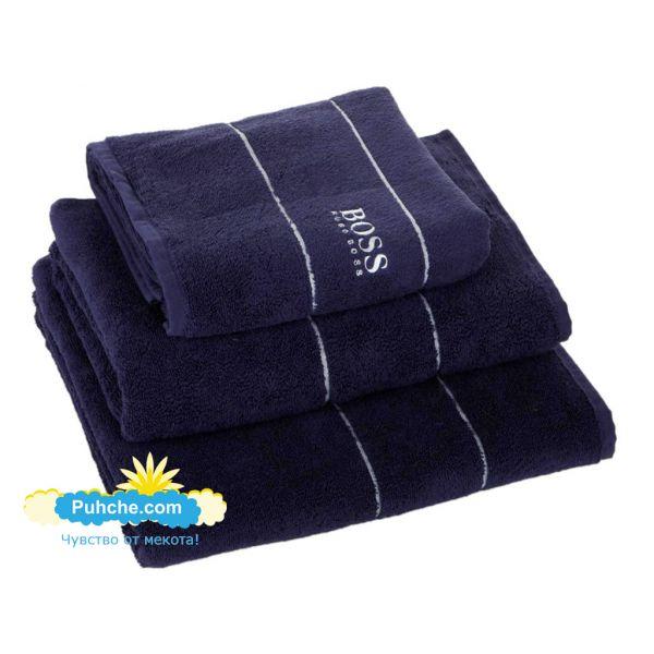 Хавлиени кърпи Попи Тъмно сини