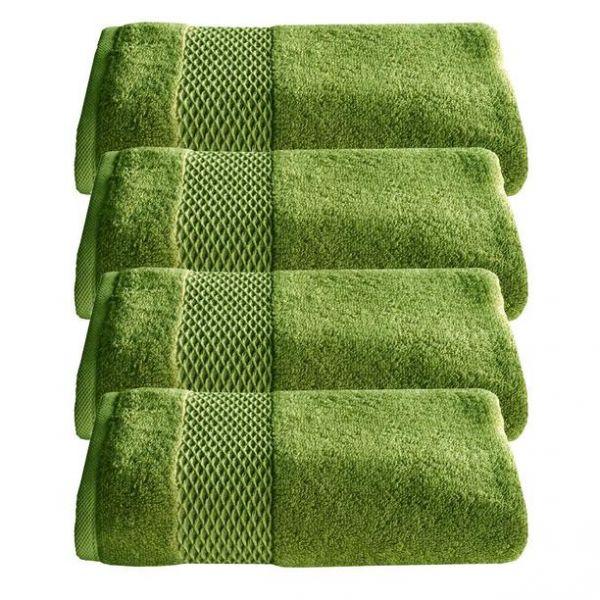 Зелени хавлиени кърпи Oxford