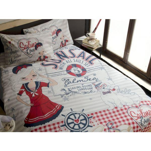 Детски спален комплект ISSIMO - Нейви Гърл