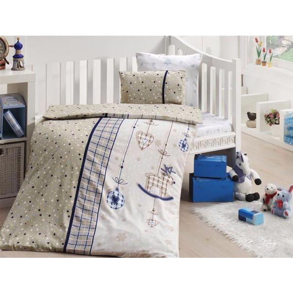 Бебешки спален комплект от бамбук - Palmi lazivert