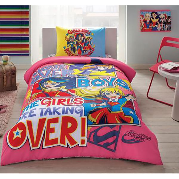 Спално Бельо Super Hero Girls
